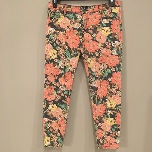 buffalo floral jeans pants SZ 12